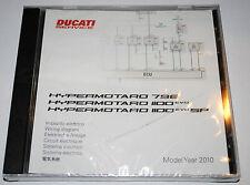 schéma circuit électrique sur CD Ducati HYPERMOTARD 796 1100 EVO / EVO SP 2010