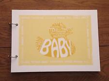 Alternativa registro firma a mano Naming Ceremony Bebé Niño Niña Libro de visitas