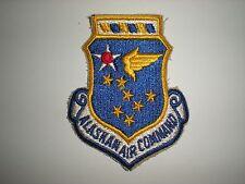 USAF VINTAGE ALASKAN AIR COMMAND PATCH - COLOR