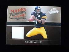 2006 Absolute Omar Jacobs rookie jersey  Steelers  jsy  mf-30