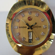 Rado Original Gold Dial Mens Watch - R12413493
