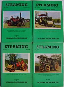 Steaming Magazine Volume 19 complete in 4 issues 1975 - 1976