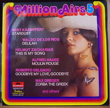 MILLION AIRS 5 CHEESECAKE COVER HOLLAND PRESS  LP POLYDOR GOLDEN CROWN SERIES