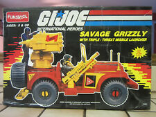 Vintage GI Joe Savage Grizzly with Triple-Threat Missile Launcher 2000 Funskool