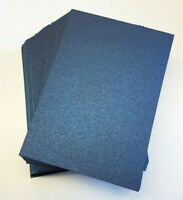 200 SHEETS Of A6 Navy Blue Pearlescent Card Stock Weddings Invites,Hobby,Crafts