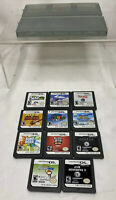 Lot of 11 Nintendo 3DS/DS Games Mario Guitar Hero Band Sims with Case