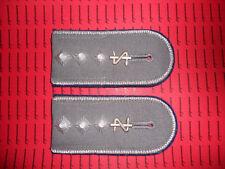 Schulterklappen Rangabzeichen Jacke dunkelblau Stabsarzt  Zahnarzt getrage ##262