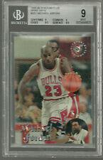 Michael Jordan 1995-96 Stadium Club #SS1 BGS 9 9 9.5 9.5 Spike Says  9