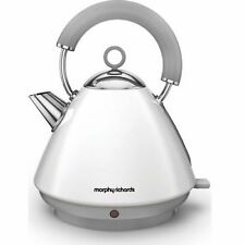Morphy Richards Accents 102031 Traditional Kettle 6 Cup Capacity White NEW