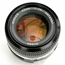 Nikon Nikkor 50mm f/1.4 AI Converted Man Focus Lens. Nr. Mint. See Test Images