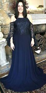 Long Dress Formal Party New Womens Plus Size 1X 1XL 14 Wedding NWT Summer Deal