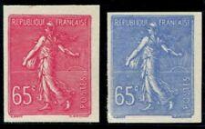 Lot N°3761 France N°201 Essai Bleu et Rose non dentelés Neuf (*) TB