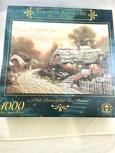 Thomas Kinkade 1000 Piece Puzzle Olde Porterfield Tea Room new in box 1999