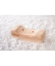 Natural Hinoki Cypress Rectangle Wooden Pillow