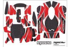 Adhesivos rojos emisora Kyosho KT-200 / KT-201 36271R