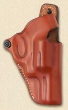 Hunter Crossdraw Holster for GLOCK 17 22 Leather Thumb Break Model Brown 4900-1