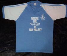 """Vintage Van Halen """"Where The %#@! Is Van Halen"""" Promotors Tee Shirt"""