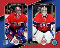 "Patrick Roy & Carey Price Montreal Canadiens NHL Legacy Photo (Size: 8"" x 10"")"