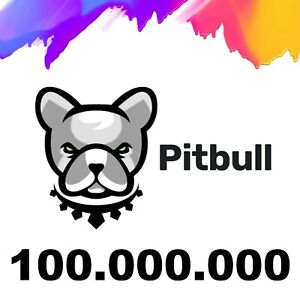 100,000,000 MILLION Pitbull (PIT)  - CRYPTO MINING-CONTRACT - Crypto Currency