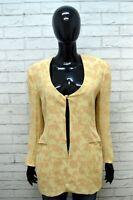 GIORGIO ARMANI Donna Taglia 44 Giacca Cappotto Blazer Jacket Women Elastica