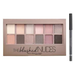 Maybelline The Blushed Nudes Eyeshadow Palette + Linerefine Expression Kajal