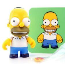 "Kidrobot The Simpsons Series 1 Homer Donut 3"" Vinyl Figure Toy"