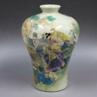 Chinese ancient antique hand make vase Household Porcelain