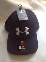 Mens Under Armour HeatGear Baseball Cap Navy Blue NWT