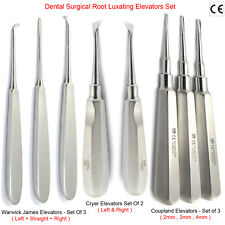 Dental Surgical Oral Surgery Tooth Loosning Root Eevators Warwick James Cryer X8