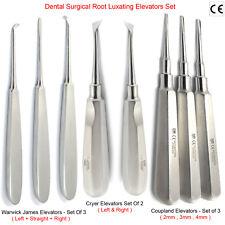 Cirugía Oral Quirúrgico Dental Diente loosning raíz Eevators Warwick James Cryer X8