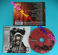 CD Blade II The SOUNDTRACK 7243 5 39011 2 7 EUROPE 2002 no lp mc dvd vhs(OST2)
