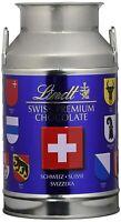 Lindt Milchkanne Swiss Premium 350g Schokolade Chocolate Milk Can MHD 30/09/2020