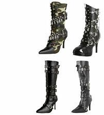 Funtasma Militant-128 Cop-911 Spicy-138 Women's Military Boots