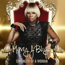 Strength Of A Woman Mary J Blige CD feat. Kanye West, Missy Elliott + MORE