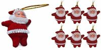 New Christmas Gifts Red Santa Claus Charms Xmas Pendant Tree Hanging Decoration