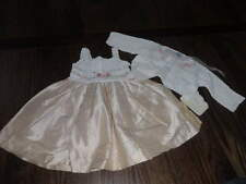 NWT NEW VICTORIA'S KIDS 0-3 SILK DRESS SHAWL SET GORGEOUS