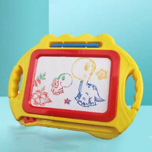 Kids Magnetic Drawing Board Doodle Erasable Pad with Pen for Toddlers US