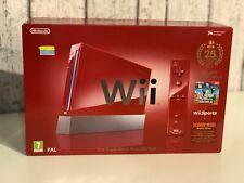 Console Nintendo WII 25th Anniversario Super Mario Pack NUOVA