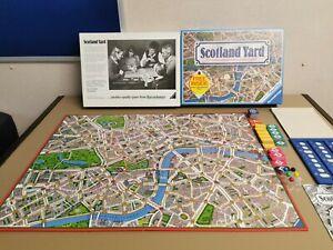Vintage Ravensburger Scotland Yard Detective Board Game 1983 Fun Family Game