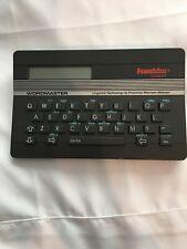 Franklin Wordmaster Wm-1000 Pocket Spell Checker Thesaurus Works