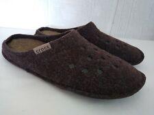 Crocs Classic Lined Slip On Slippers Charcoal Grey Unisex 5/7 Men's 5 Women's 7
