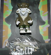 Pearl Jam Ron English Falla Sheep Vinyl Art Figure Green Variant Save The Wolves