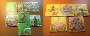 Carcassonne King & Scout Hunters and Gatherers mini expansion GER / ENG / HOL