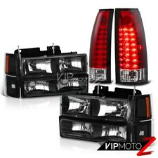 94-98 Chevy C10 C/K 1500 2500 3500 2WD 4WD Red LED Tail Corner Head Lights Lamp