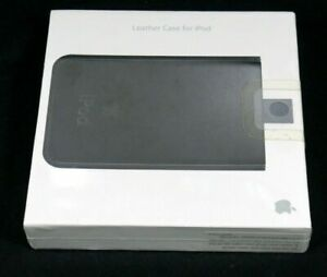APPLE GENUINE HTF RARE LEATHER CASE FOR IPOD (60 GB) MA399G/A 2006 (NEW SEALED)