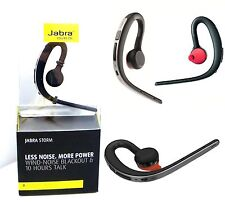New Genuine Jabra Storm Bluetooth Headset HD Voice NFC Wind Noise Reduction UK