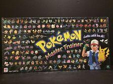 Pokemon Master Trainer Board Game By Milton Bradley-1999 Hasbro-Brand New sealed