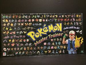 Pokemon Master Trainer Board Game By Milton Bradley-1999 Hasbro-Brand New sealed