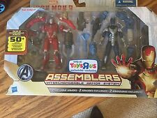 NIP Iron Man 3 Marvel Assemblers Red Snapper & Gravity Cloak Toys RUs Exclusive