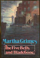 The Five Bells and Bladebone by Martha Grimes-First Edition/DJ-1987